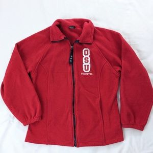 Ohio State Buckeyes Full Zip Fleece Jacket